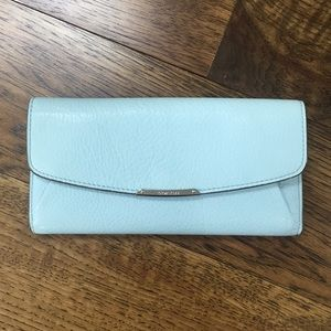 Coach Pebble Leather Wallet